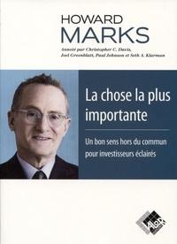 Howard Marks - La chose la plus importante.