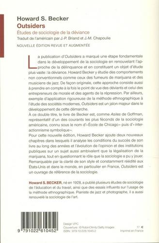 Outsiders. Etudes de sociologie de la déviance  édition revue et augmentée