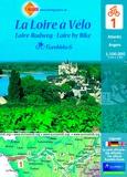 Huber Verlag - La Loire à Vélo - Atlantic-Angers, 1/100 000.