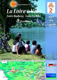 Huber Verlag - La Loire à vélo - Angers-Blois, 1/100 000.
