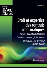 Hubert Bitan - Droit et expertise des contrats informatiques.