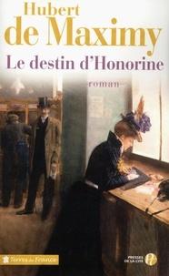 Hubert de Maximy - Le destin d'Honorine.
