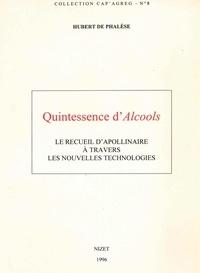 """Hubert de Phalèse - Quintessence d'""""Alcools"""" - Le recueil d'Apollinaire à travers les nouvelles technologies."""