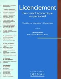 Hubert Flichy - Licenciement pour motif économique ou personnel - Procédures, indemnités, contentieux.