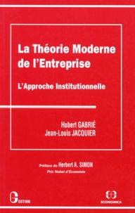 Hubert Gabrié et Jean-Paul Jacquier - .