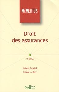 Hubert Groutel et Claude J. Berr - Droit des assurances.