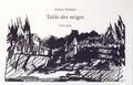 Hubert Haddad - Table des neiges.