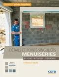 Hubert Lagier et Brigitte Bize - Détails et points singuliers, menuiseries - Travaux neufs 87 fiches / 4 étapes / 128 schémas.