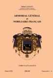 Hubert Lamant - Armorial général et nobiliaire français - Tome 58 fascicules 1-4, Lebrun de Plaisance.