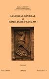 Hubert Lamant - Armorial général et nobiliaire français - Tome 68 fascicules 1-4, Callac.