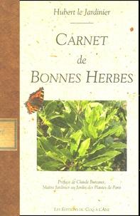 Hubert le jardinier - Carnet de Bonnes Herbes.