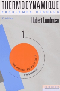 hubert lumbroso thermodynamique pdf