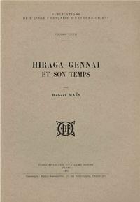 Hubert Maes - Hiriga Gennai et son temps.
