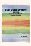 Hubert Maire - Cours d'éco-conception - Fondements et applications.