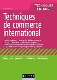 Hubert Martini - Techniques de commerce international.