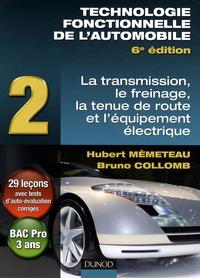 Corridashivernales.be Technologie fonctionnelle de l'automobile - Tome 2, Transmission, freinage, tenue de route et équipement électrique Image