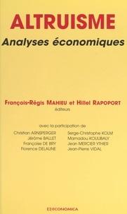 Hubert Rapoport et François-Régis Mahieu - .