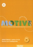 Hueber - Motive B1 - Arbeitsbuch, Lektion 19-30. 1 CD audio MP3