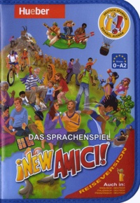 Hueber - New Amici, Das Sprachenspiel - Deutsch-Spanish, 0-A2.