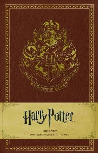 Harry Potter Poudlard Carnet Ligne Avec Pochette De Huginn