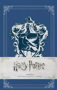 Huginn & Muninn - Harry Potter Serdaigle - Mini-carnet avec pochette.