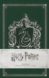 Huginn & Muninn - Harry Potter Serpentard - Mini-carnet avec pochette.