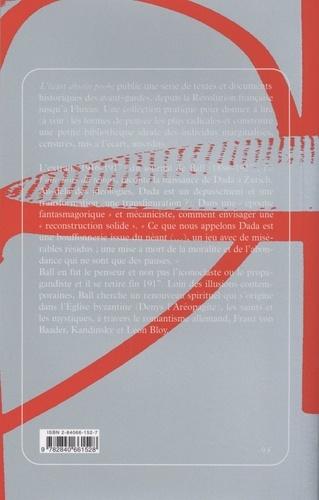 Dada à Zurich. Le mot et l'image (1915-1917)  édition revue et corrigée