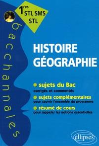 Hugo Billard et Thomas Galoisy - Histoire-Géographie 1e STI, SMS, STL.