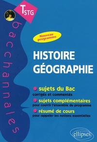 Hugo Billard et Thomas Galoisy - Histoire-Géographie Tle STG.
