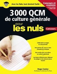 3 000 QCM de culture générale pour les nuls - Concours.pdf