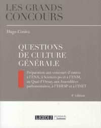 Questions de culture générale - Hugo Coniez |