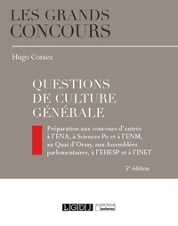 Hugo Coniez - Questions de culture générale.