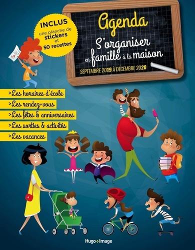 Hugo Image - Agenda s'organiser en famille à la maison - De septembre 2019 à décembre 2020.