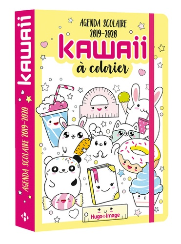 Agenda Scolaire Kawaii A Colorier Grand Format