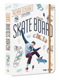 Hugo Image - Agenda scolaire Skate Board.