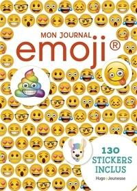 Hugo jeunesse - Mon journal intime emoji - Avec 130 stickers.