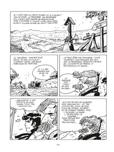 Corto Maltese en noir et blanc Tome 11 Les Helvétiques