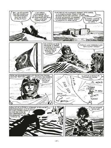 Corto Maltese en noir et blanc Tome 5 Les Ethiopiques