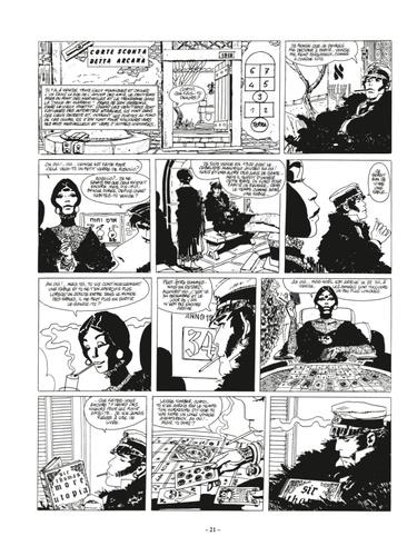 Corto Maltese en noir et blanc Tome 6 En Sibérie