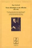 Hugo Schuchardt - Textes théoriques et de réflexion (1885-1925).