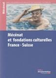 Hugues Aubry et Monique Barbier-Mueller - Mécénat et fondations culturelles France-Suisse.