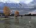 Hugues Bonnel - Annecy, entre lac et montagne : A city, a lake and mountains.