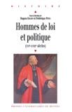 Hugues Daussy - Hommes de loi et politique (XVIe-XVIIIe siècles).