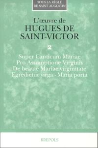 Hugues de Saint-Victor - .