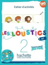 Feriasdhiver.fr Les Loustics 2 A1 - Cahier d'activités (130 autocollants) Image