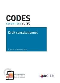 Hugues Dumont et Anne-Emmanuelle Bourgaux - Droit constitutionnel.