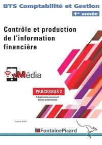 Hugues Jenny - Contrôle et production de l'information financière, Processus 2 - BTS 1re année Comptabilité et Gestion.