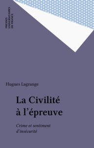 Hugues Lagrange - .