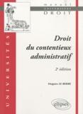 Hugues Le Berre - Droit du contentieux administratif.