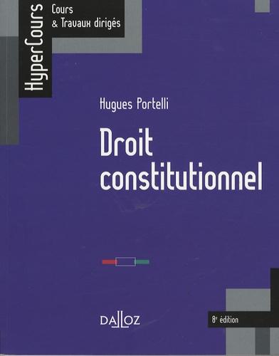 Droit constitutionnel 8e édition